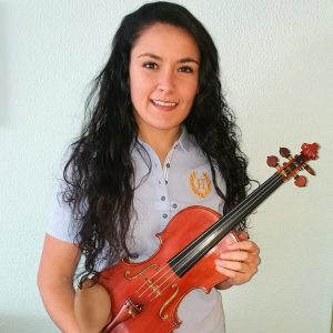 Cristina González García - Profesora de violín