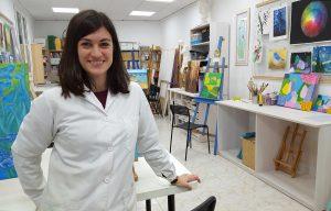 Raquel Jiménez Molina - Profesora de Dibujo y Pintura