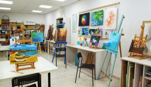 Aula de Dibujo y Pintura