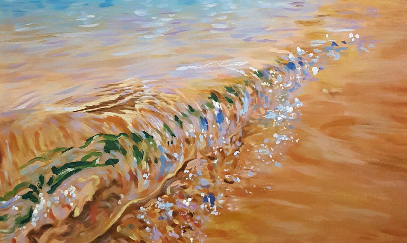 """Exposición """"Los colores del agua"""""""