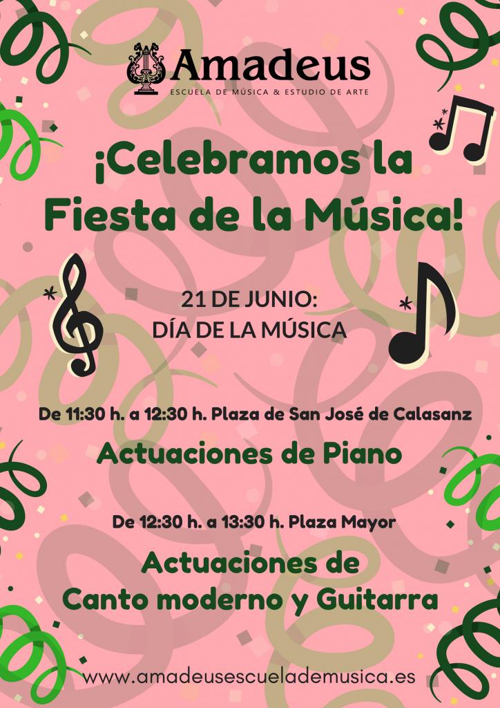 Fiesta de la Musica 2018 conciertos