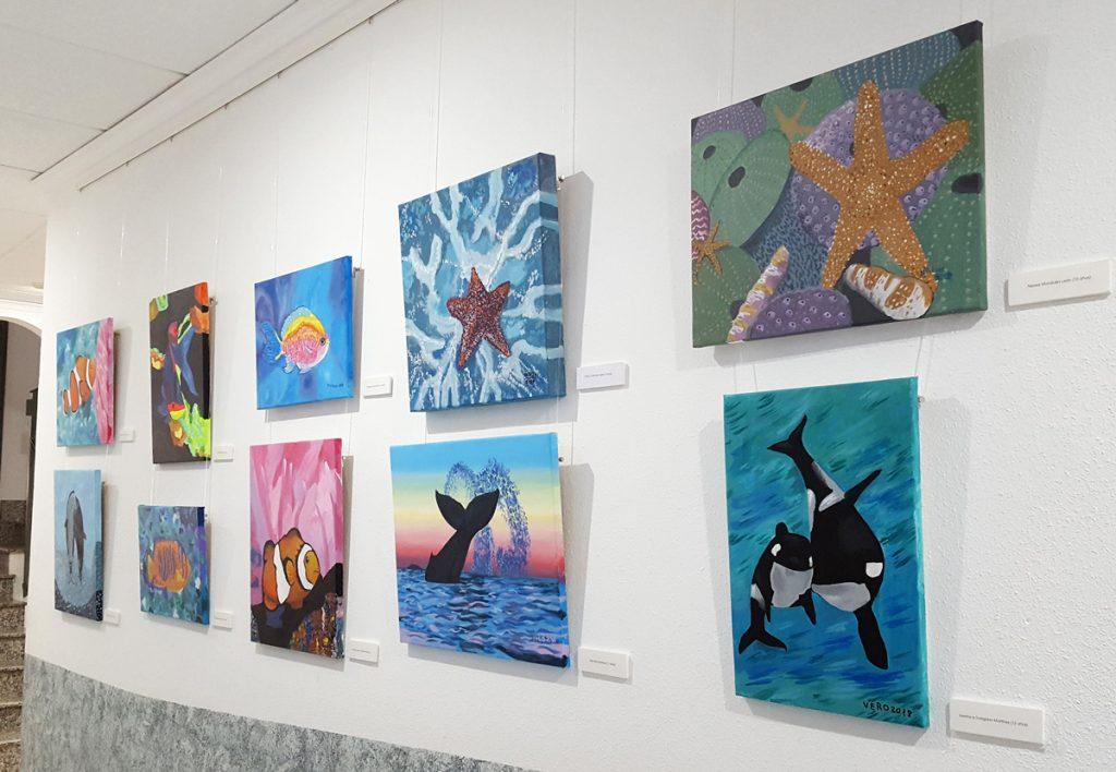 Los colores del agua, galería