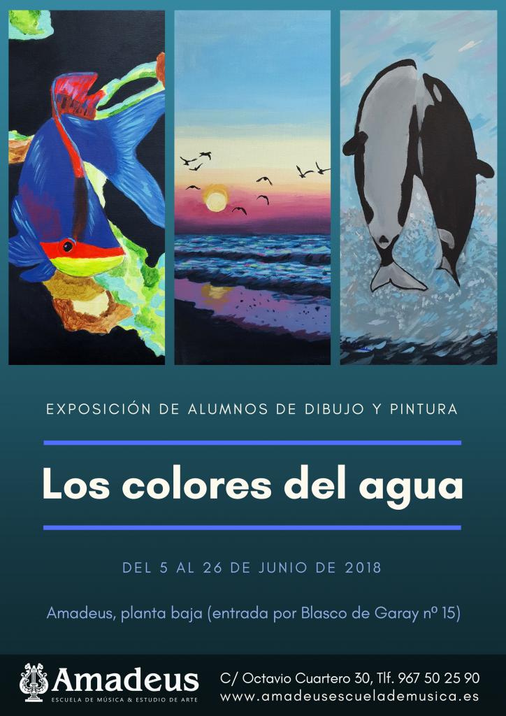 Los colores del agua