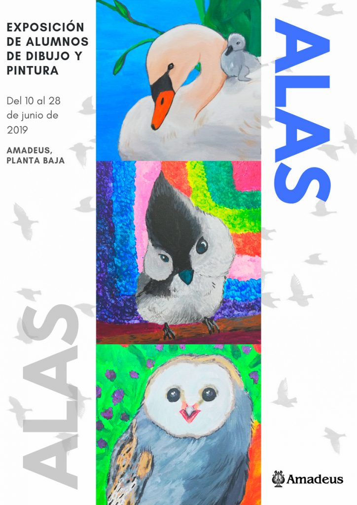 Cartel exposición Alas 2019