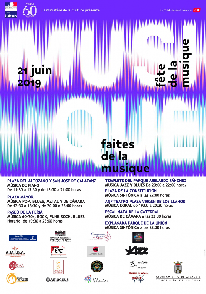 CARTEL Día de la Música 2019