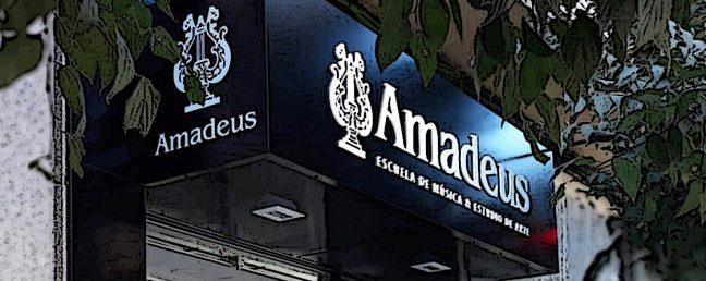 Letrero Amadeus en Alicante