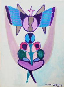 Candela García (8 años) – Airagu (1979) de Maruja Mallo