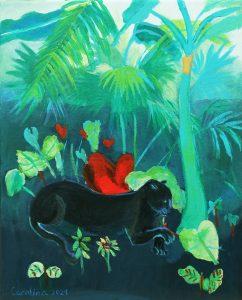 Carolina Santos (9 años) – Pantera Negra (1934) de Alice Dinneen