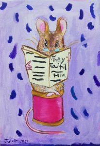 """Julia Ruiz (9 años) – """"Johnny Town-Mouse"""" (1904) de Beatrix Potter"""