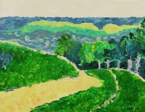 Laura Díez (11 años) – La orilla de Canteleu (c. 1900) de Blanche Hoschedé-Monet