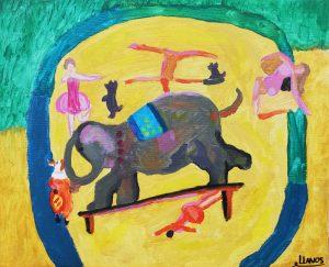 Llanos Piqueras (10 años) – El elefante (1922) de Alice Bailly