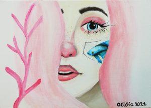 """Olivia Peramato (13 años) – """"Blue fish"""" (2016) de Ana Santos"""