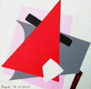 Raquel Sánchez (10 años) – Arquitectura pictórica (1917) de Liubov Popova