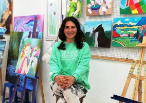 Virginia de León Gabaldón - Profesora de Dibujo y Pintura