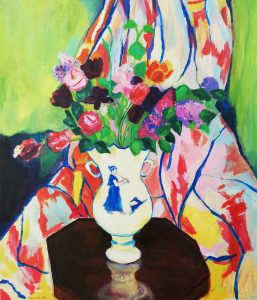 Virginia de León (profesora) – Ramo de tulipanes (1927) de Suzanne Valadon