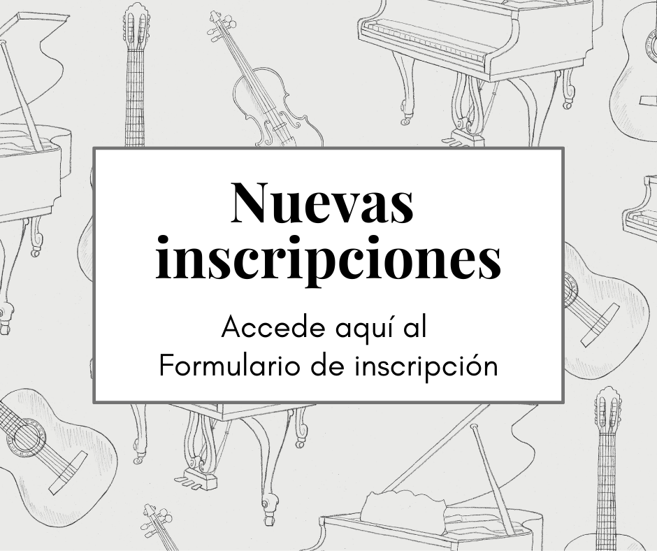 Inscripción nuevos alumnos