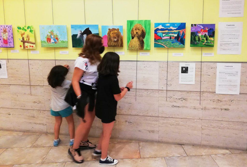 Exposición Mujeres Pintoras, Junio 2021